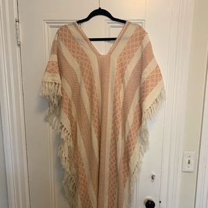 Free People Crocheted Poncho